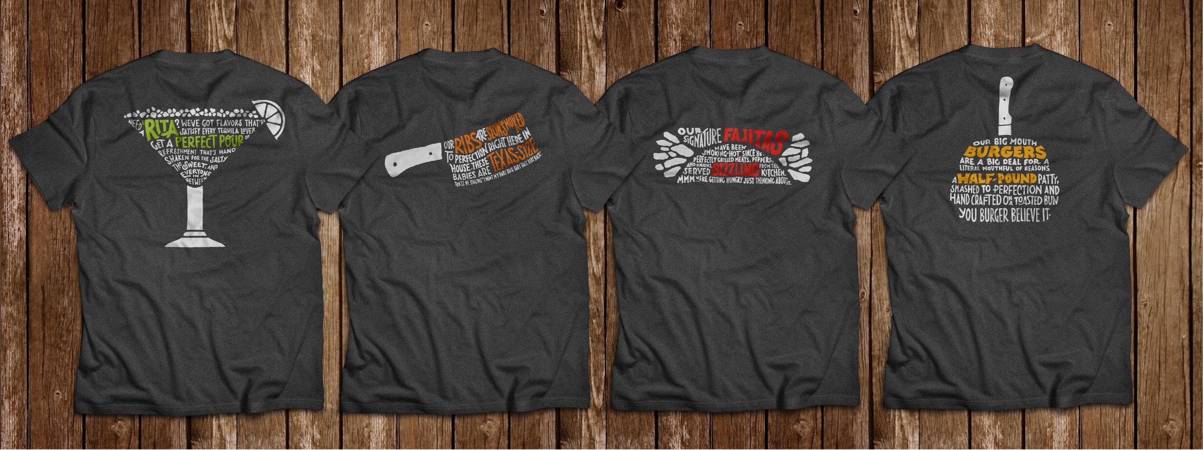 Chili's crew shirts