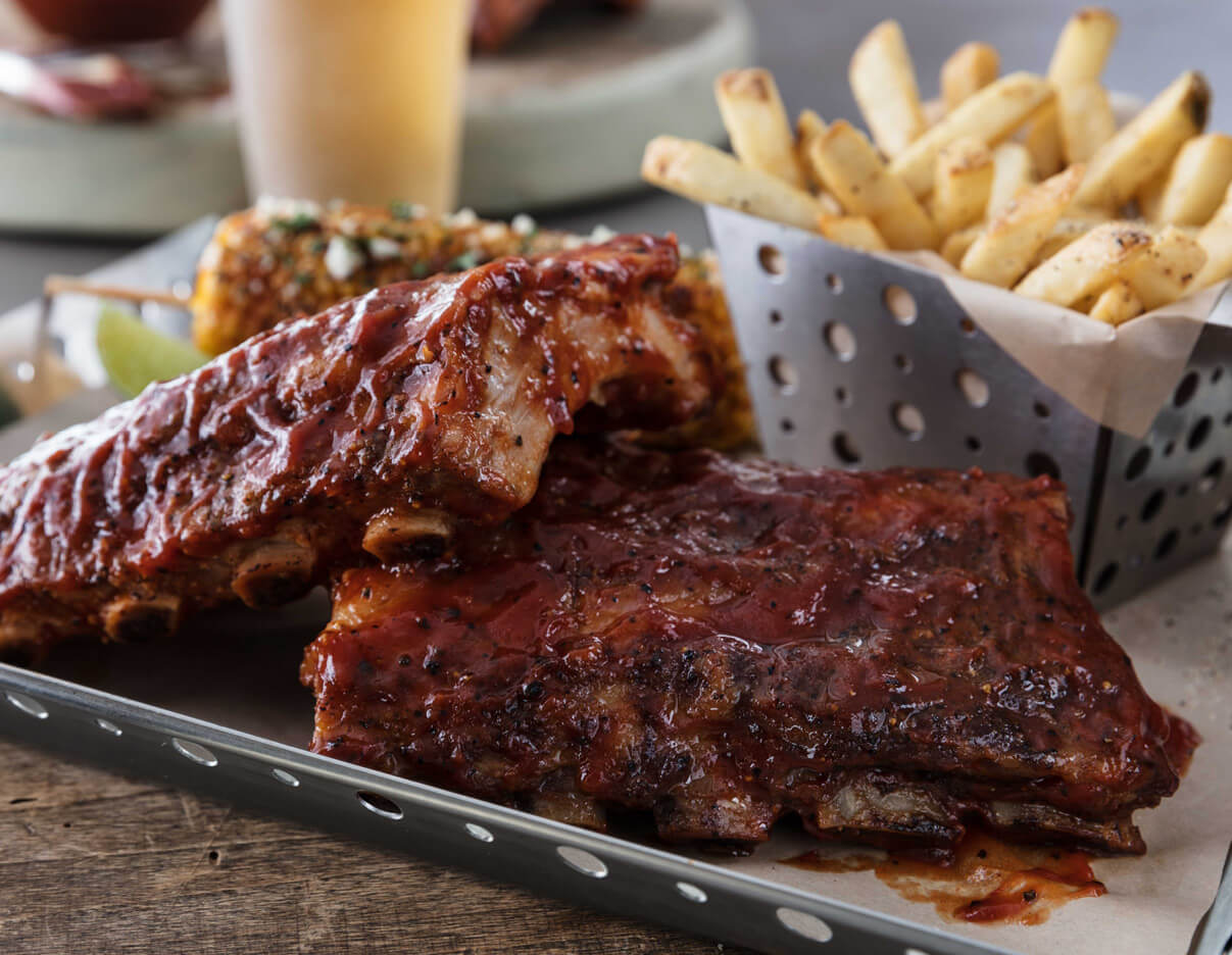 Chili's full rack ribs