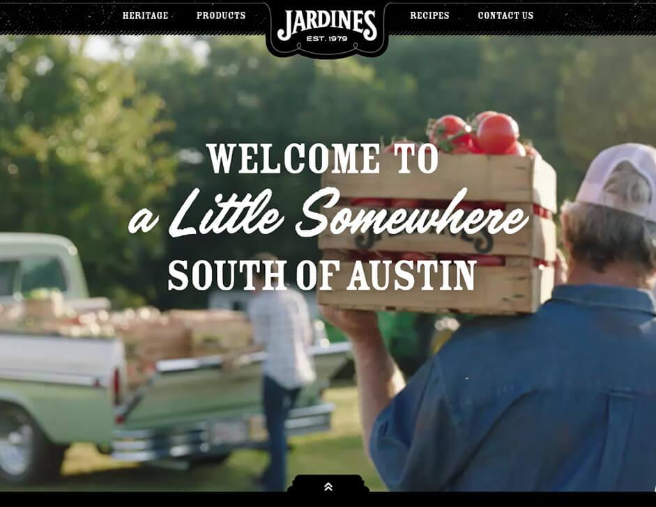 Jardines site