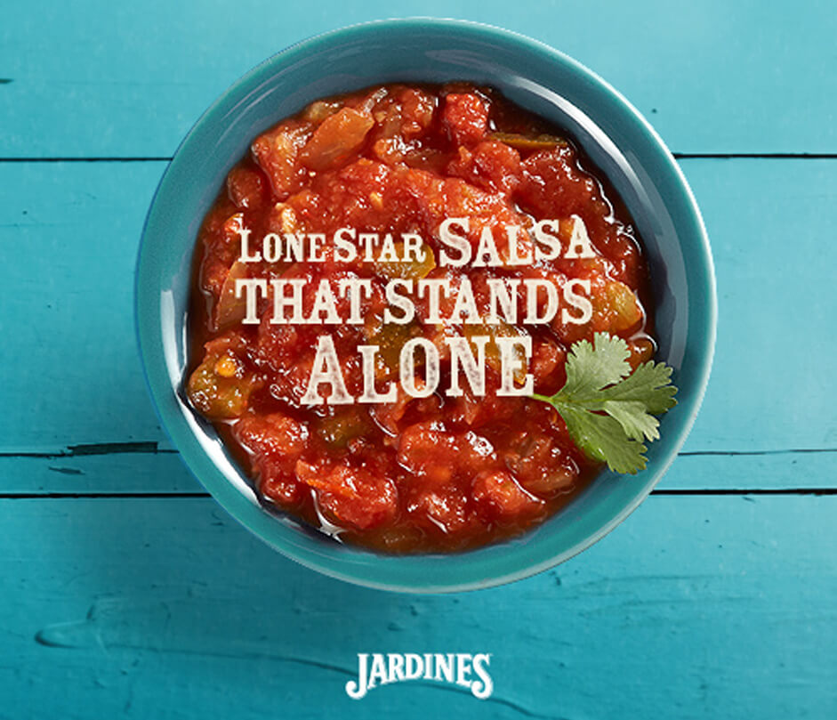 Jardines social - Lone star salsa that stands alone