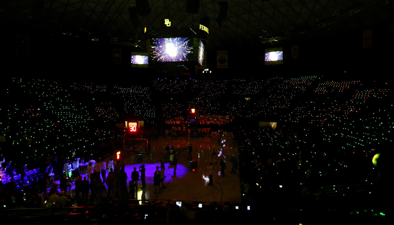 Baylor - Lights Shine Bright basketball