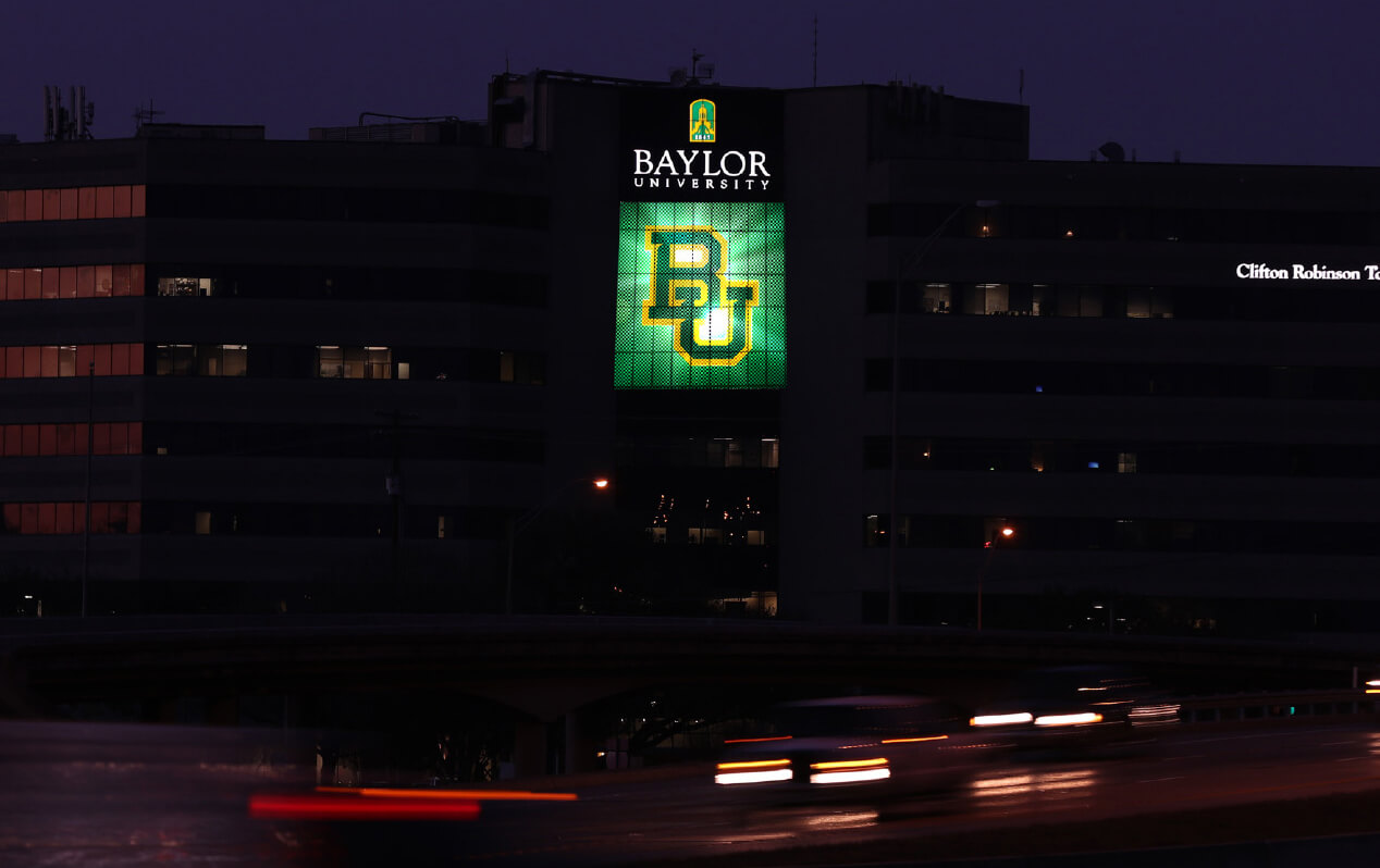 Baylor - Lights Shine Bright lightscape