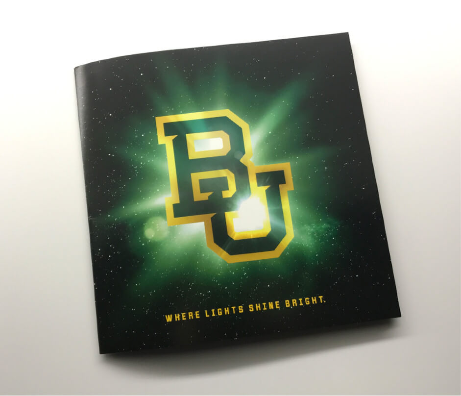 Baylor - Lights Shine Bright mailer