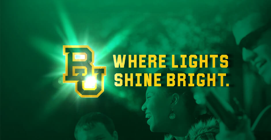 Baylor - Lights Shine Bright social
