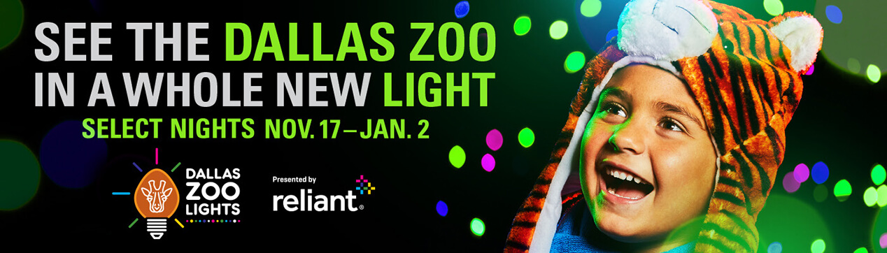 Dallas Zoo - Zoo Lights billboard