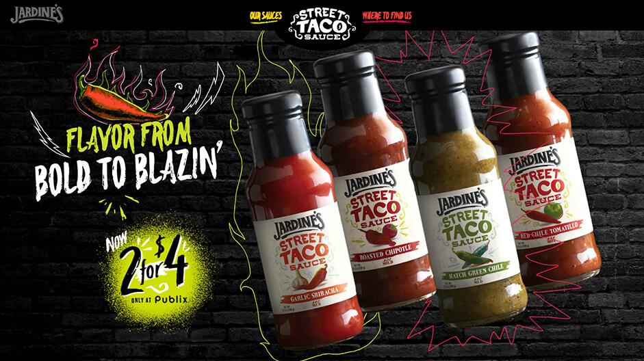 Jardines Street Taco Sauce