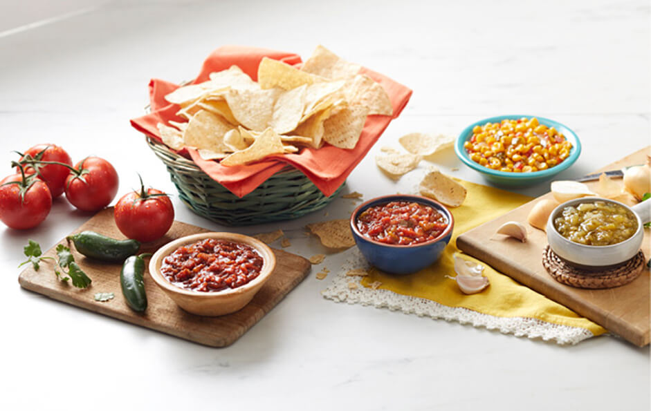 Teasdale chips and salsa
