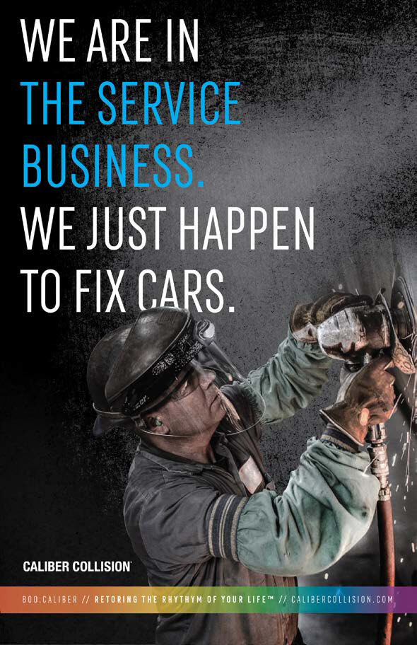 Caliber Collision - We are in the service business. We just happen to fix cars.