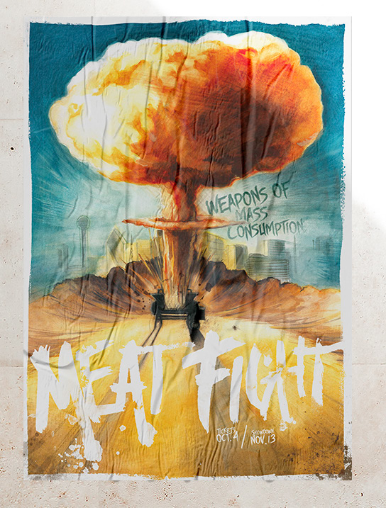 Meat Fight poster