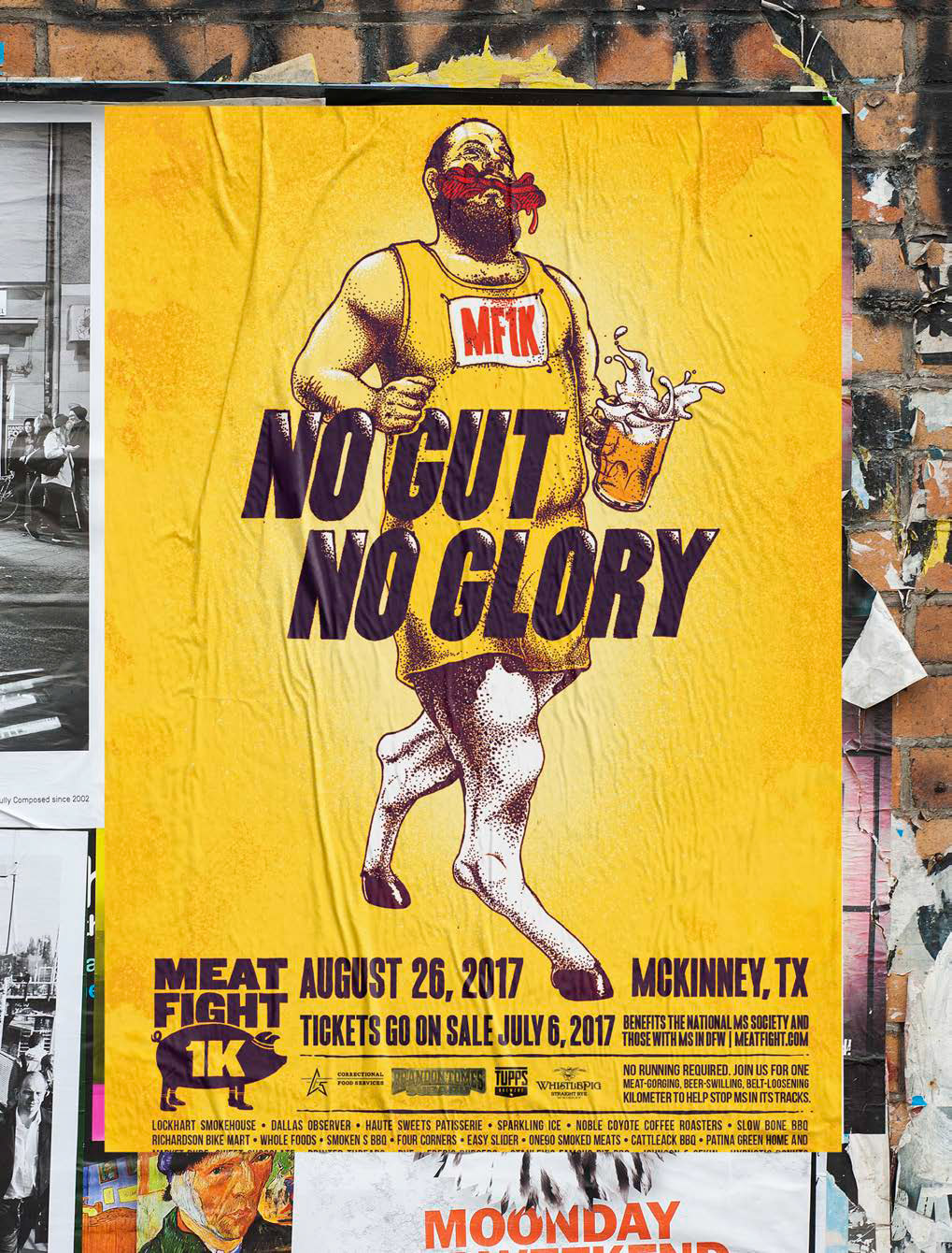 MF1K Poster - No Gut No Glory