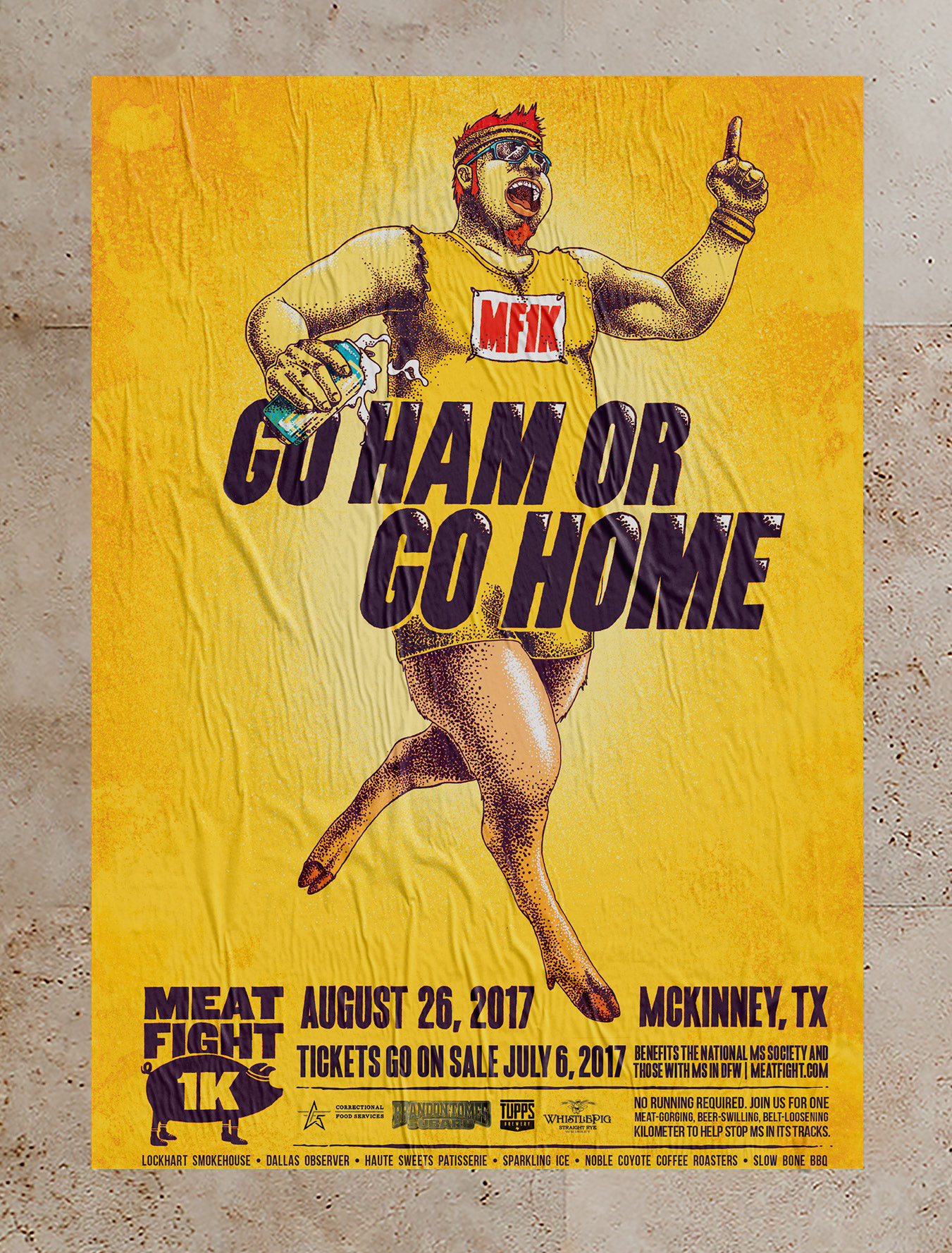 MF1K poster - Go Ham or Go Home